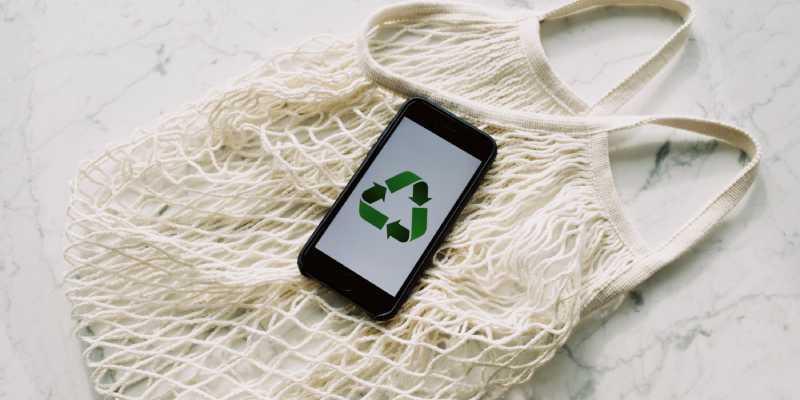 Groen marketingconcept