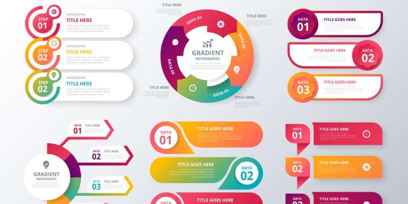 Visuele communicatie infographic